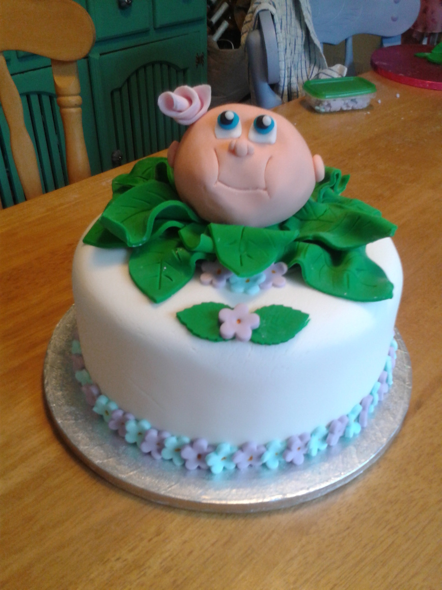 Cabbage Patch Kid Cake on Cake Central