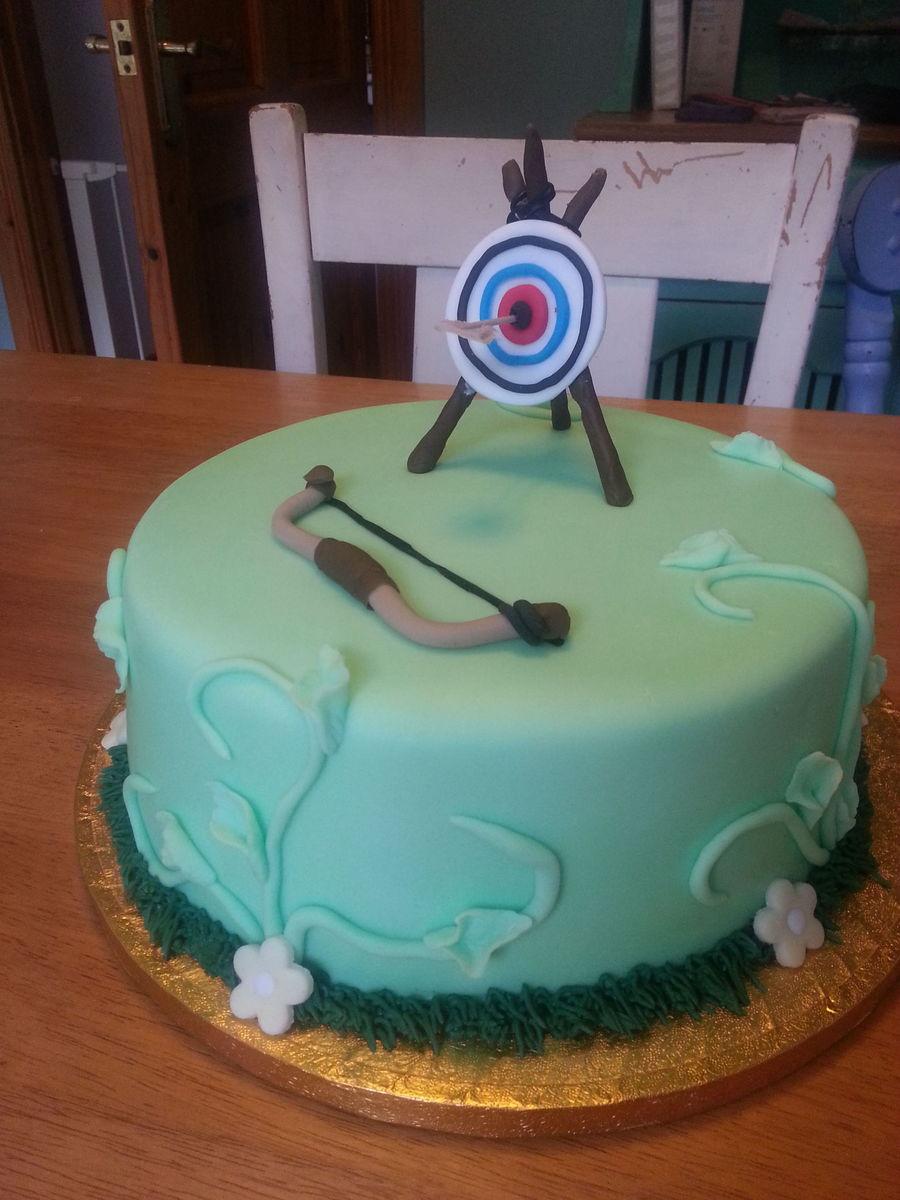 Archery Cake Cakecentral Com