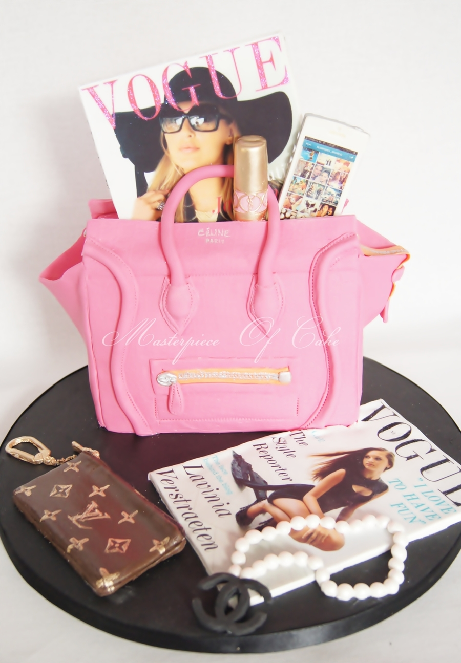 Personalized Fashion Cake - CakeCentral.com