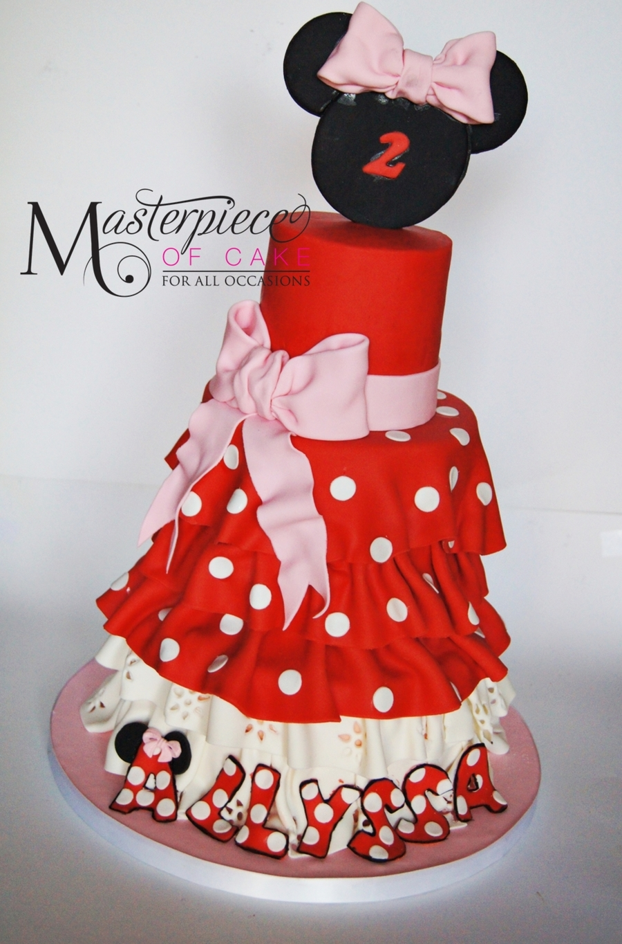 Cute Minnie Mouse Cakes