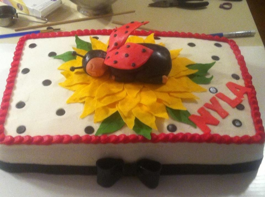 Baby Lady Bug on Cake Central