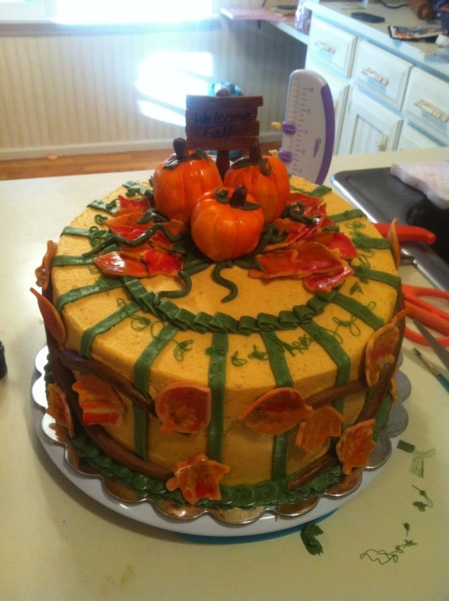 Fall Festival on Cake Central
