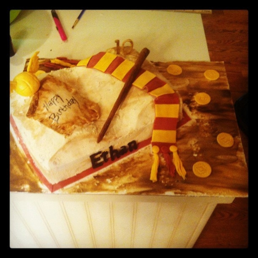 Harry Potter on Cake Central