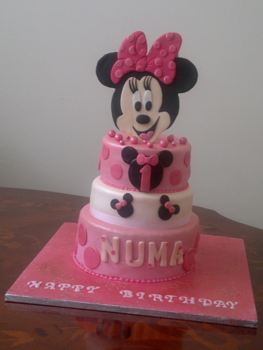 Minnie Mouse Cake For Little Girl on Cake Central