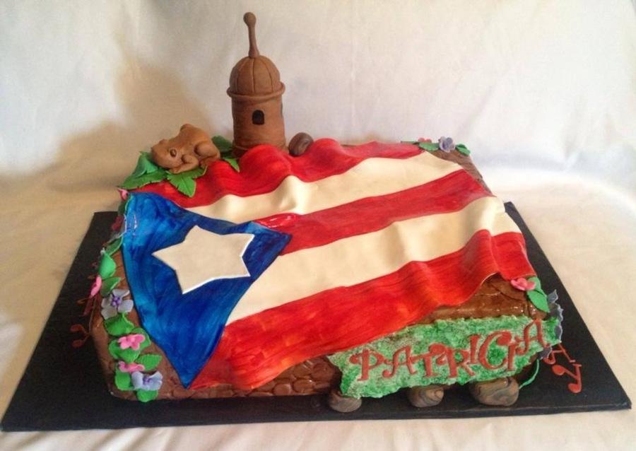 Puerto Rican Birthday Cake