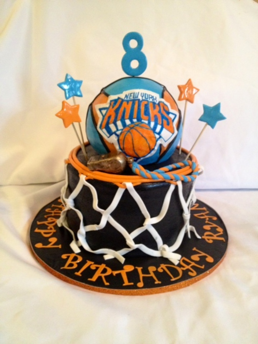 Photo Basketball Birthday Cake
