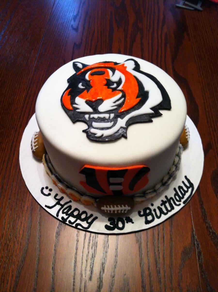 Cincinnati Bengals - CakeCentral.com