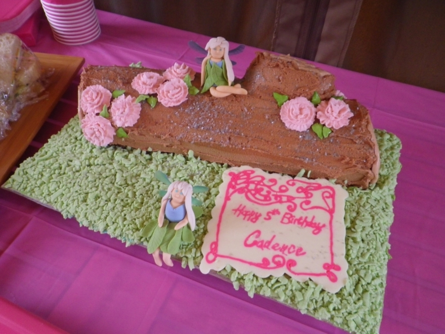 Woodland Fairy on Cake Central