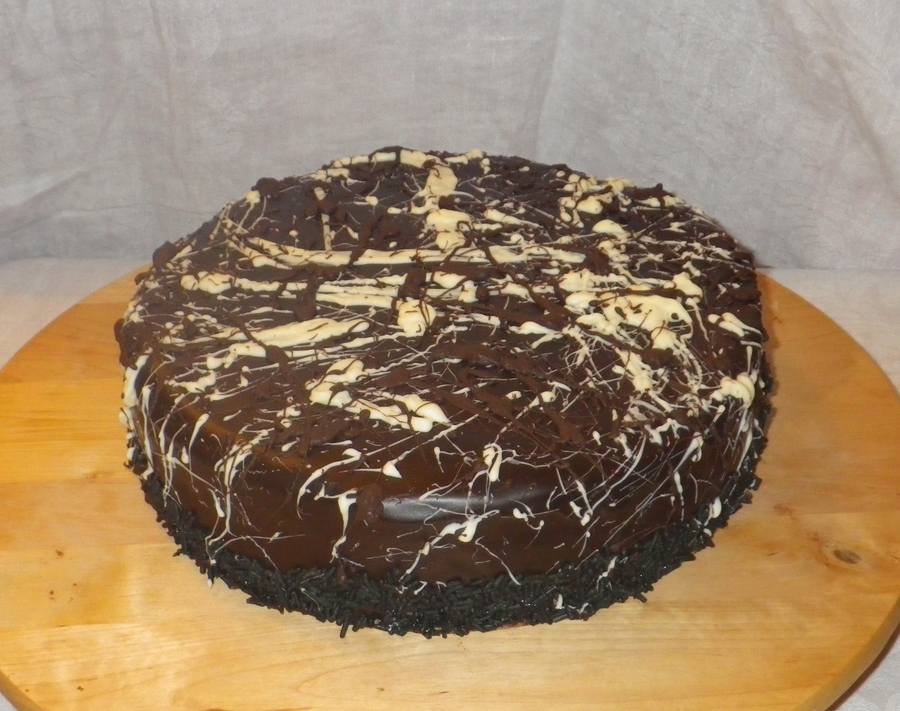 Chocolate Peanut Butter Swirl Cheesecake on Cake Central
