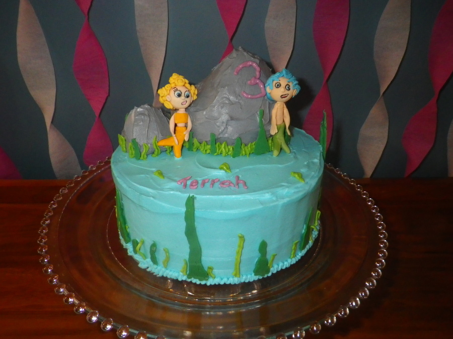 Bubble Guppies For My Daughters 3Rd Birthday on Cake Central