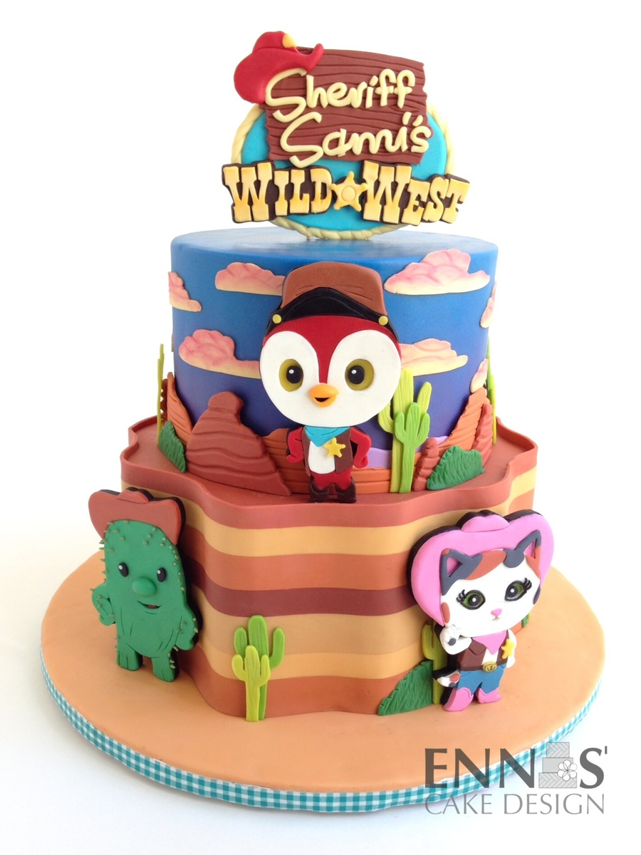 Sheriff Callie Cake Ideas