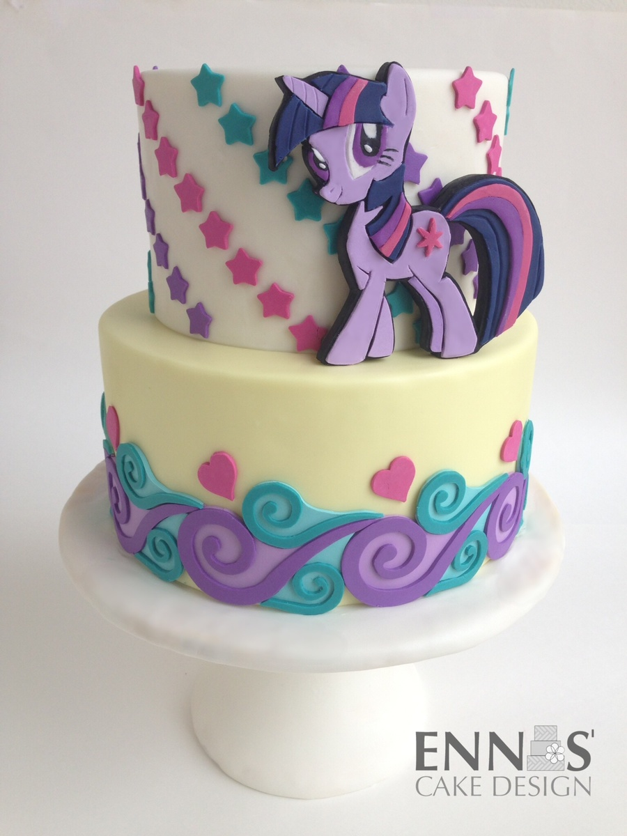 How To Make Twilight Sparkle Cake Topper