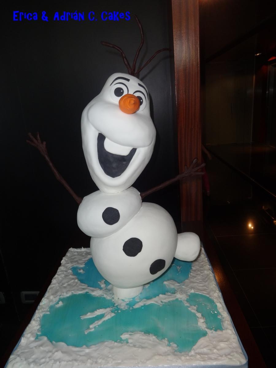 Olaf Cupcake Cake Recipe