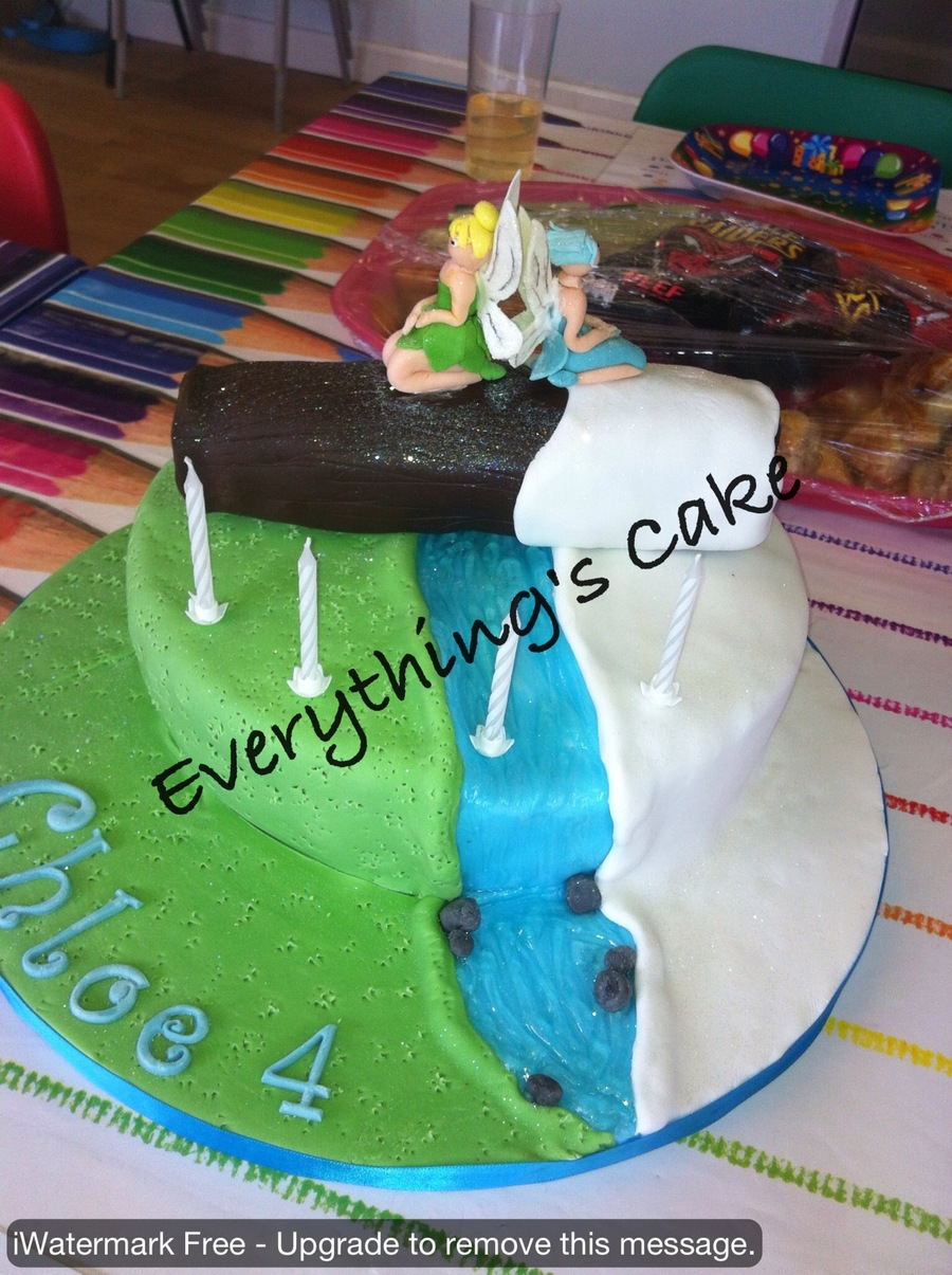Tinkerbell And Periwinkle From The Film Tinkerbell And The Secret Of The Wings on Cake Central