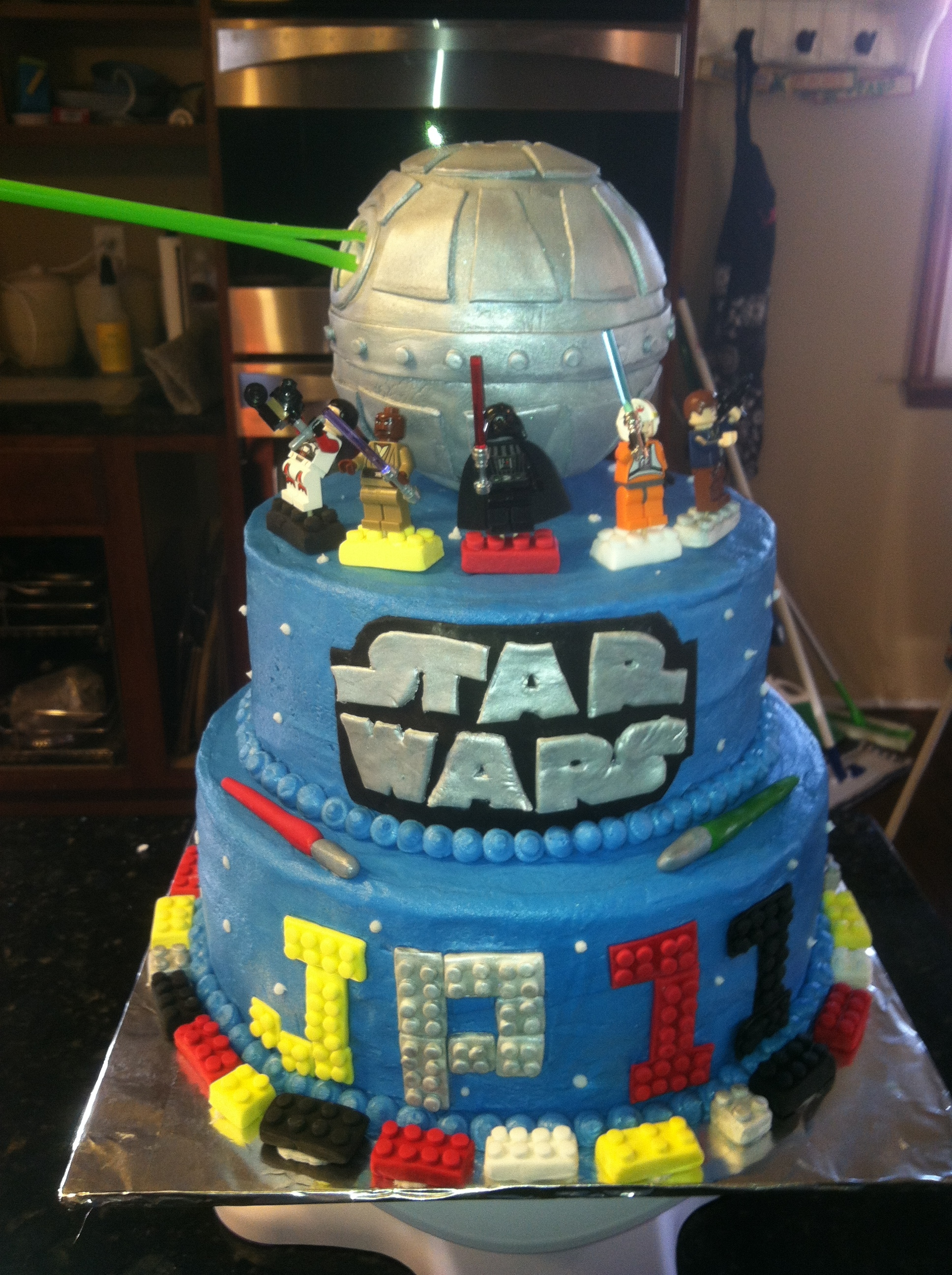 Luke Skywalker Cake Ideas