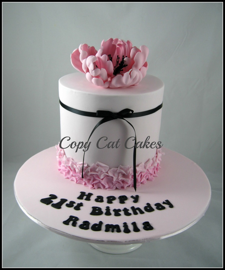 21st Birthday Cake Design For Her : Birthday Cakes For Her - CakeCentral.com