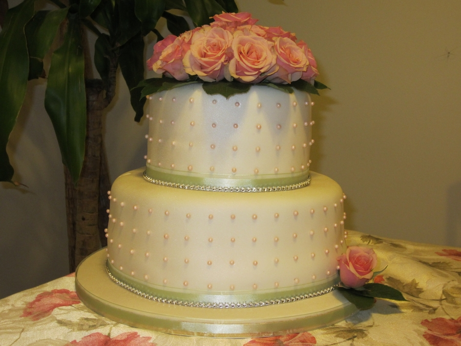 Elegant Rose !!!!!  on Cake Central