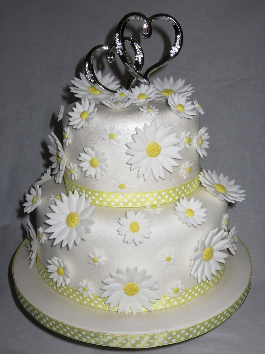 Summer Wedding on Cake Central
