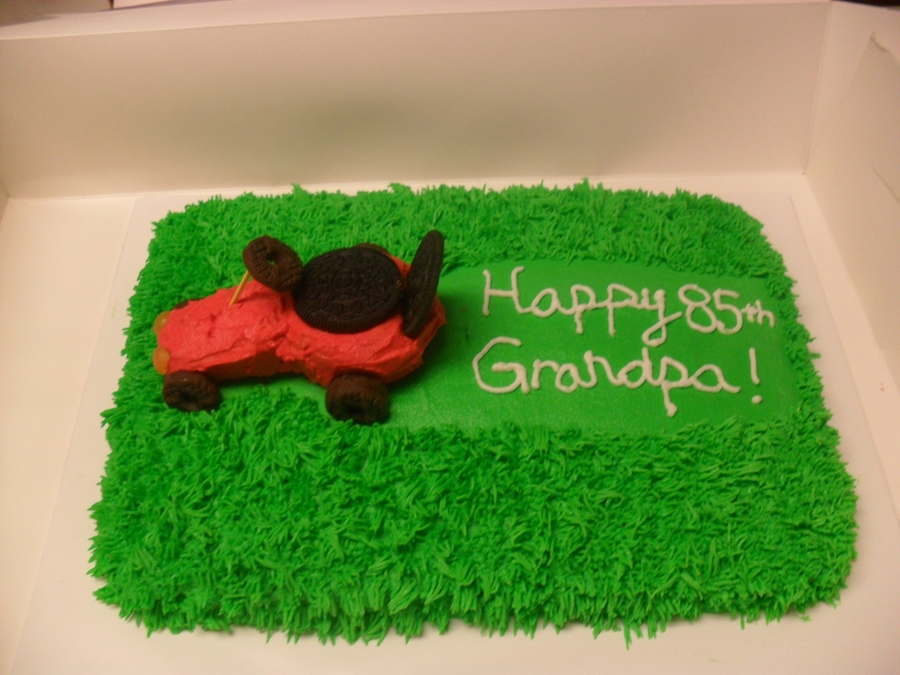Lawn Mower Cake  on Cake Central
