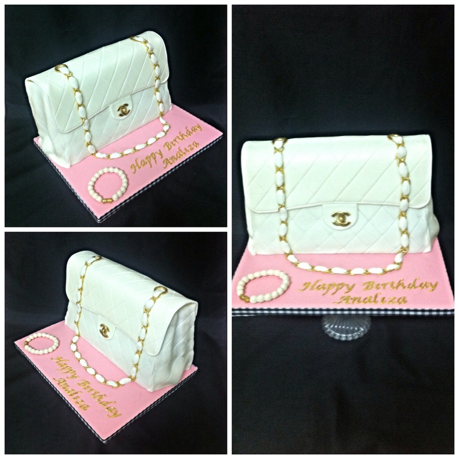 Classic Chanel Purse Cake on Cake Central