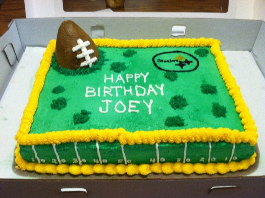 Steelers Cake on Cake Central