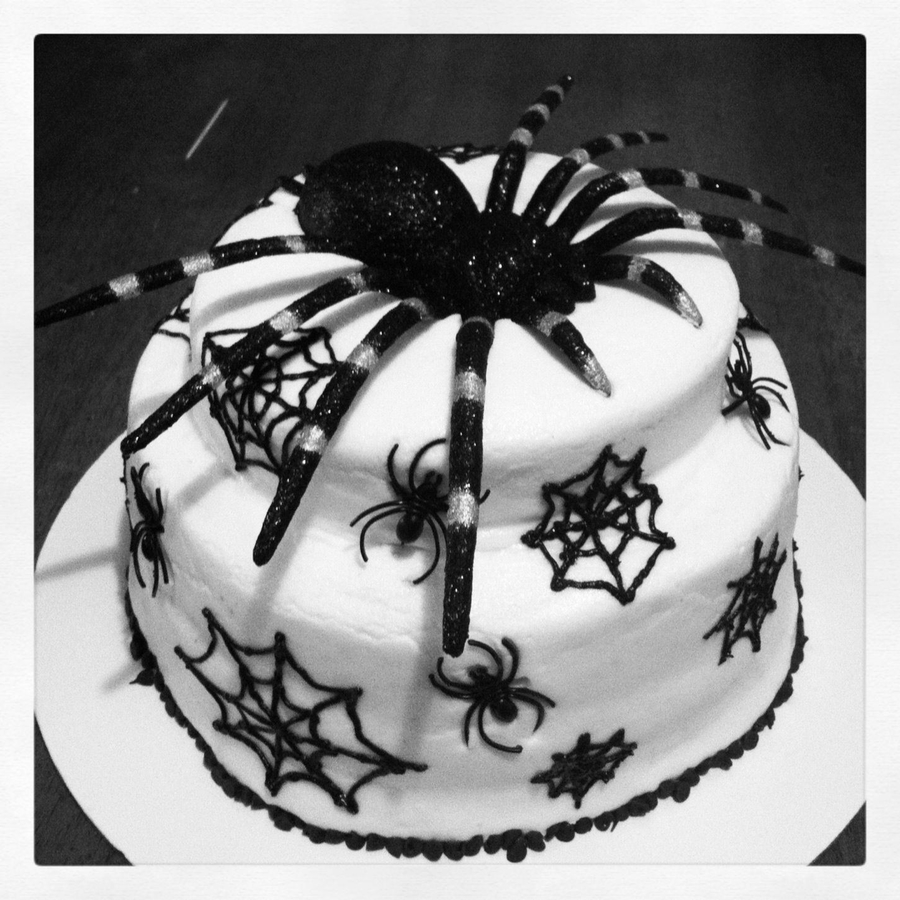 Spiderweb Cake on Cake Central