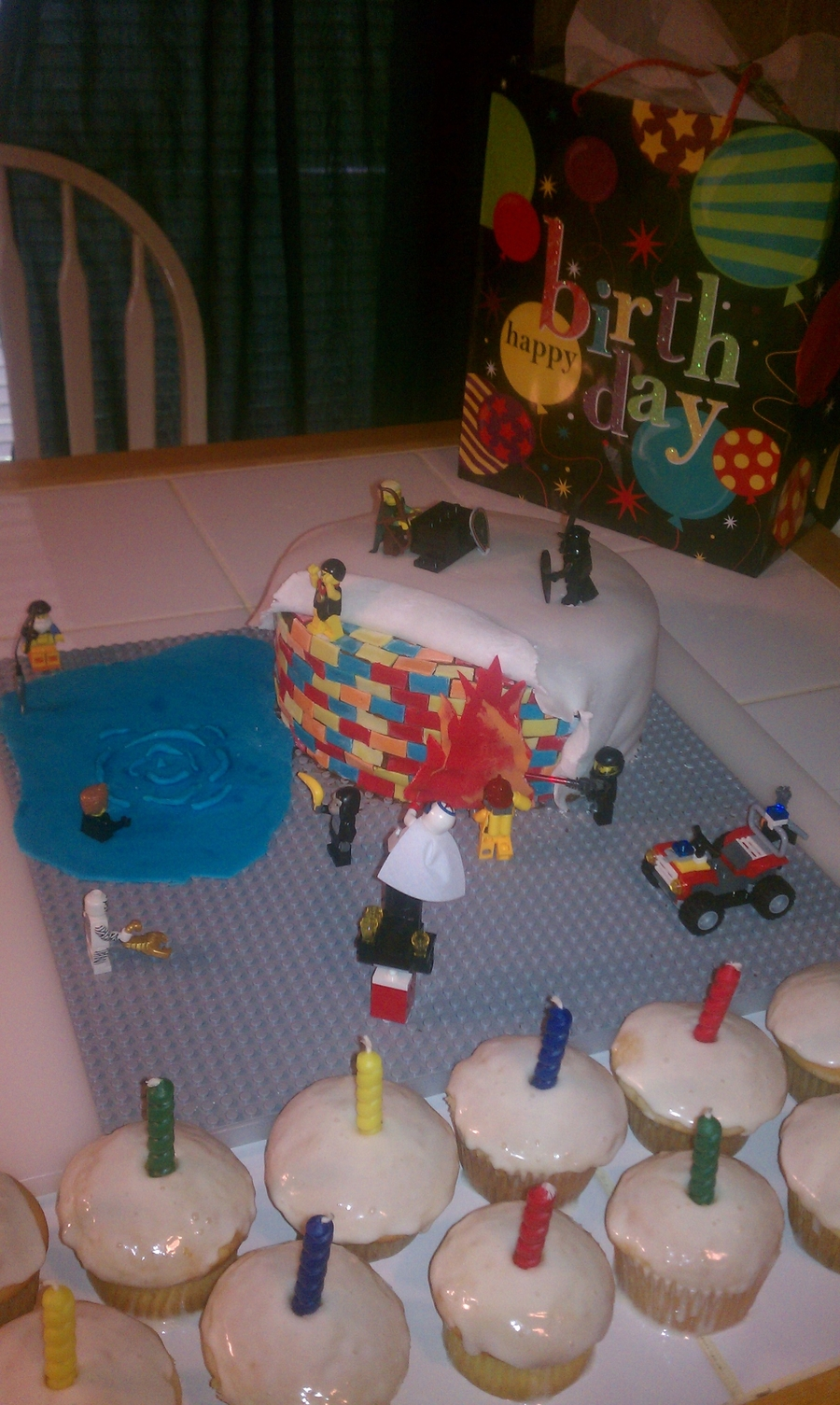 Lego Fun  on Cake Central