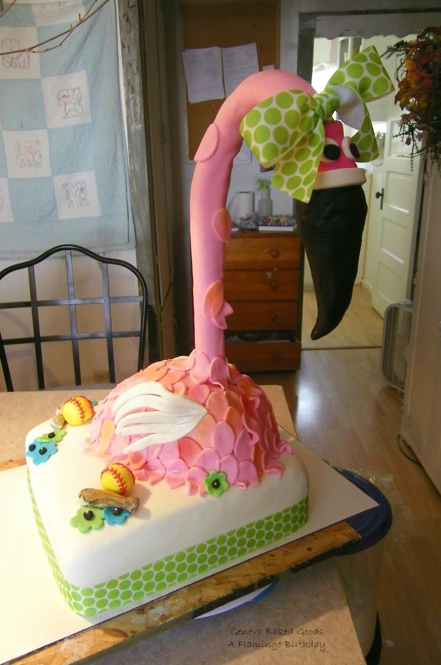 Pink Flamingo Cake Cakecentral Com
