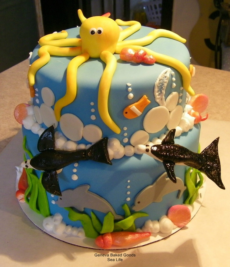 Sea Life on Cake Central