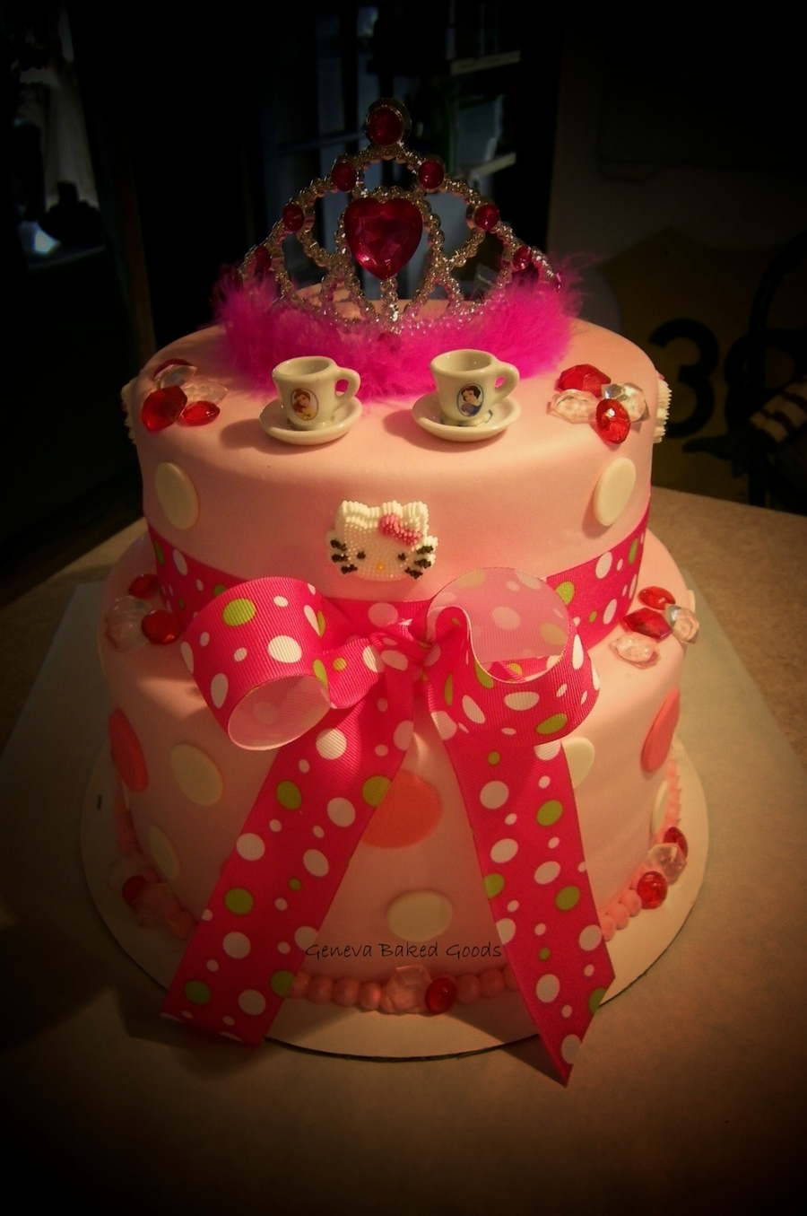 Tea Party/hello Kitty/princess Cake on Cake Central