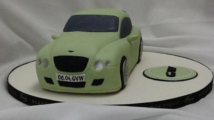Bentley Birthday Cake For Him on Cake Central