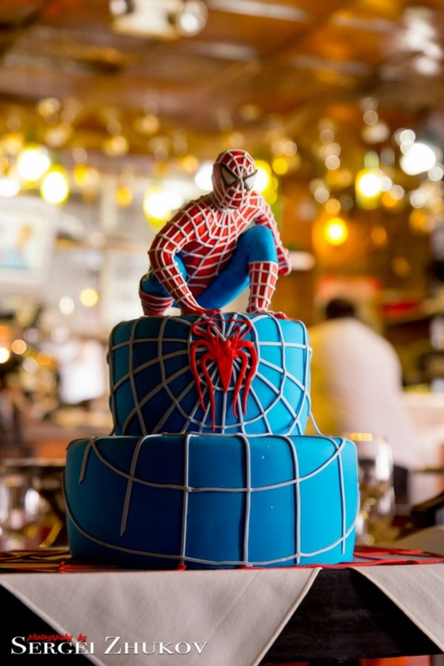 Spiderman Cake For Kids  on Cake Central