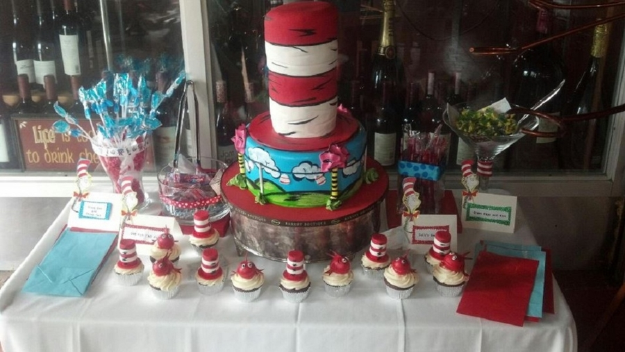 Dr. Seuss Custom Cake For A Kid on Cake Central