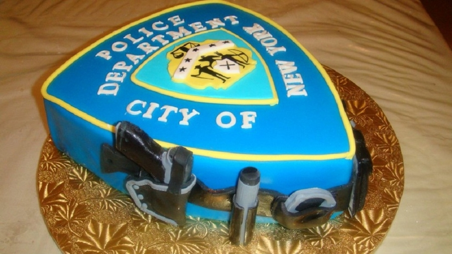 City Of New York Police Department Custom Cake on Cake Central