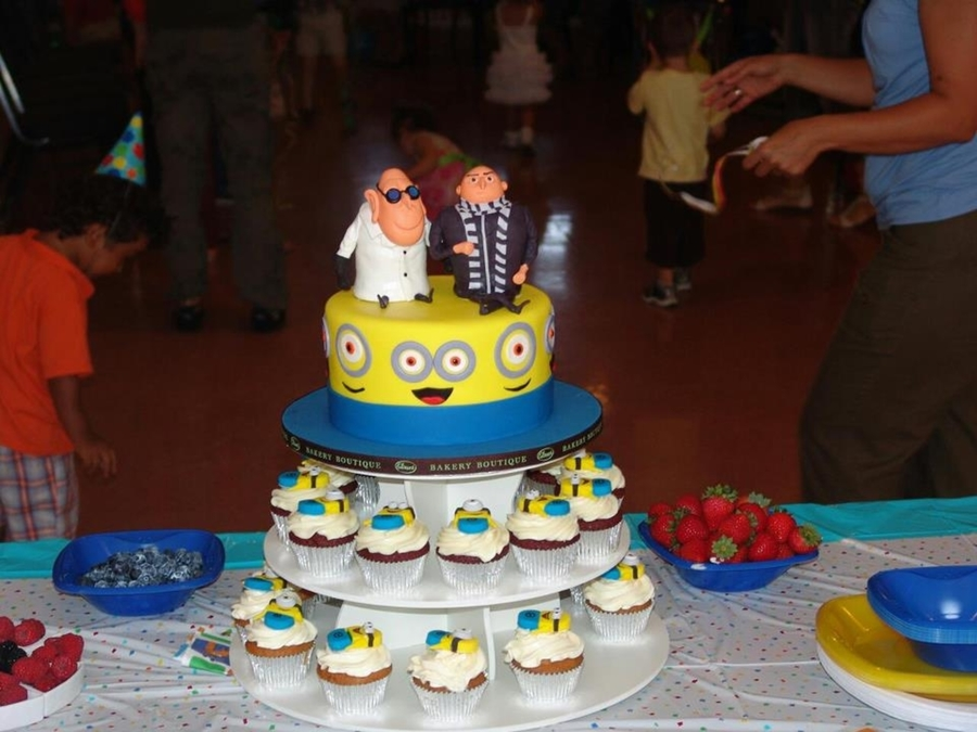 Despicable Me Themed Cake For Kids on Cake Central
