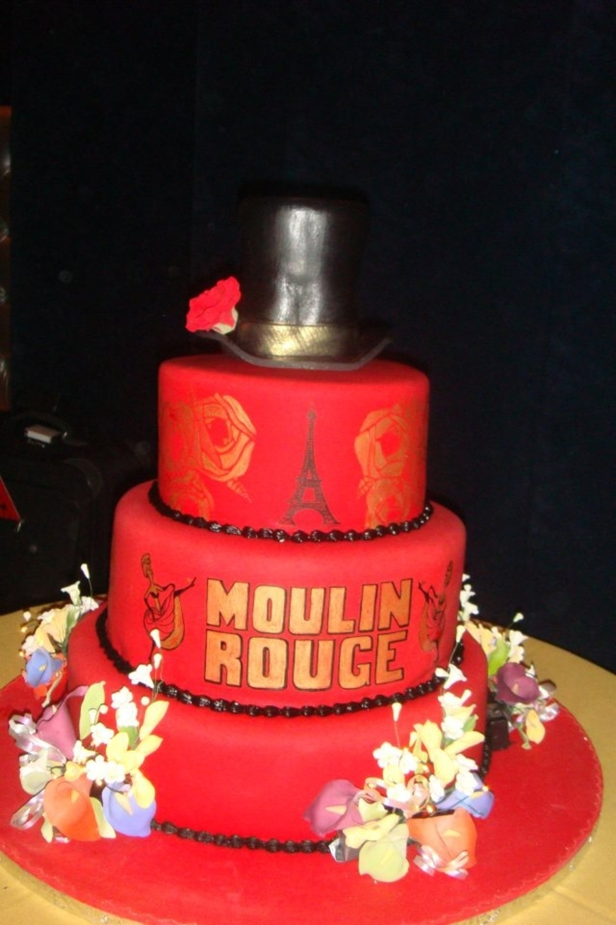 Moulin Rouge Custom Cake on Cake Central