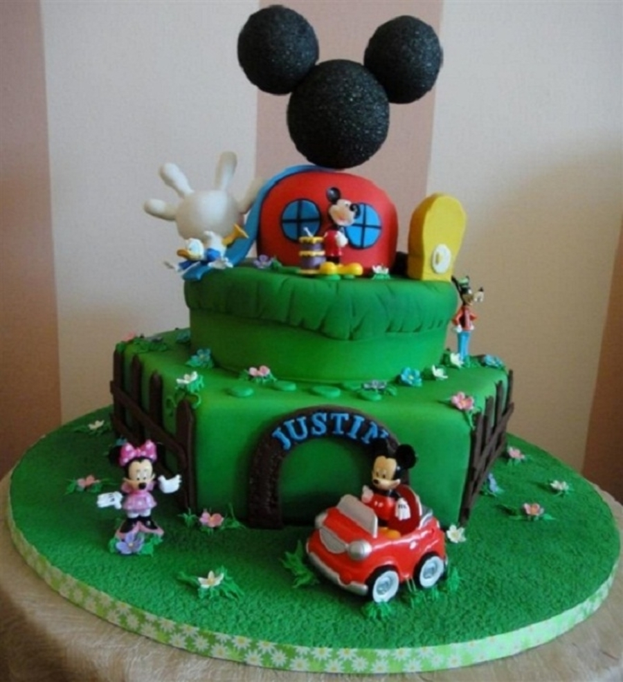 Mickey Mouse Birthday Cake For Him on Cake Central