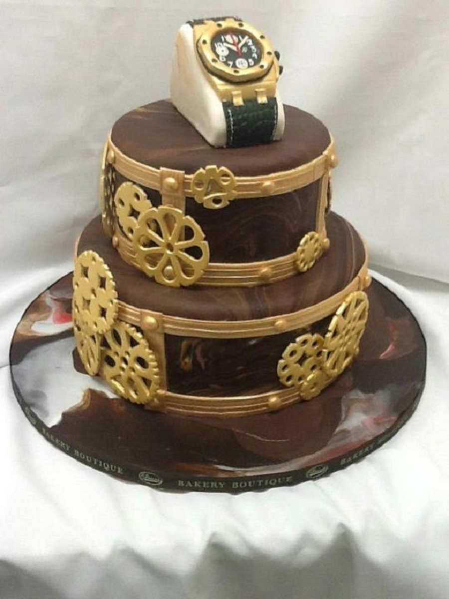 Steampunk Birthday Cake Recipes