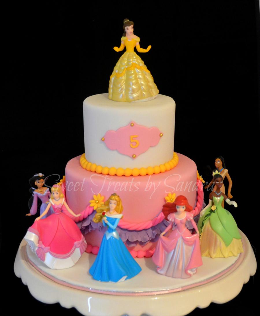 Disney Princess Cake Gallery