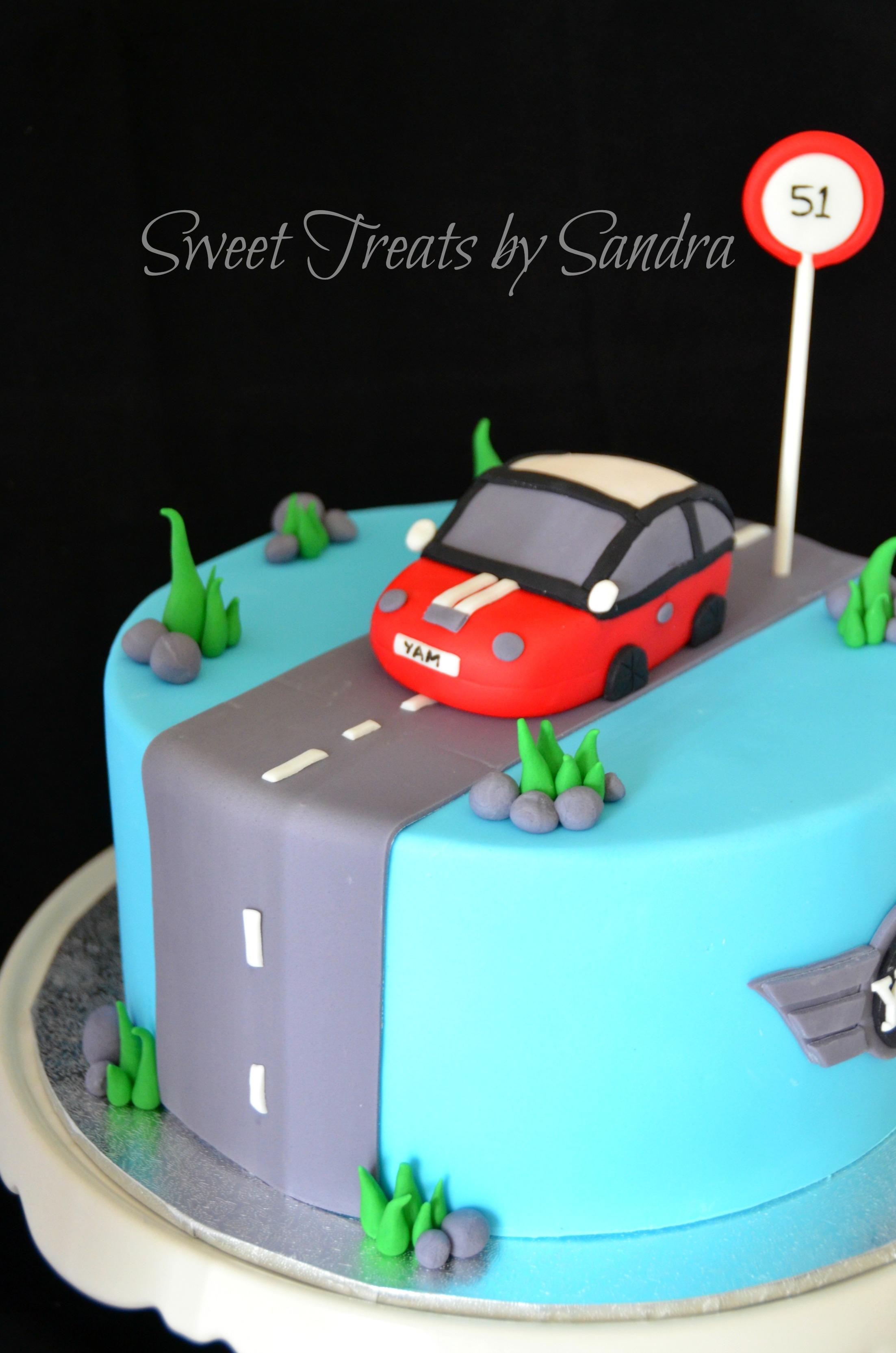 Mini Cooper Cake CakeCentralcom