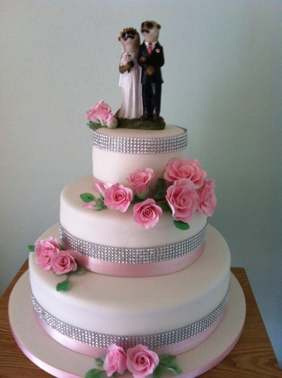 Meercat Wedding Cake on Cake Central