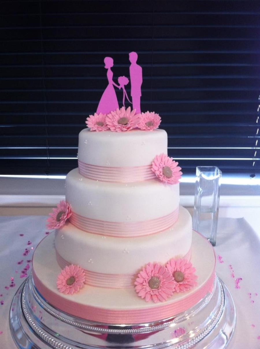 My Cousins Wedding Cake on Cake Central