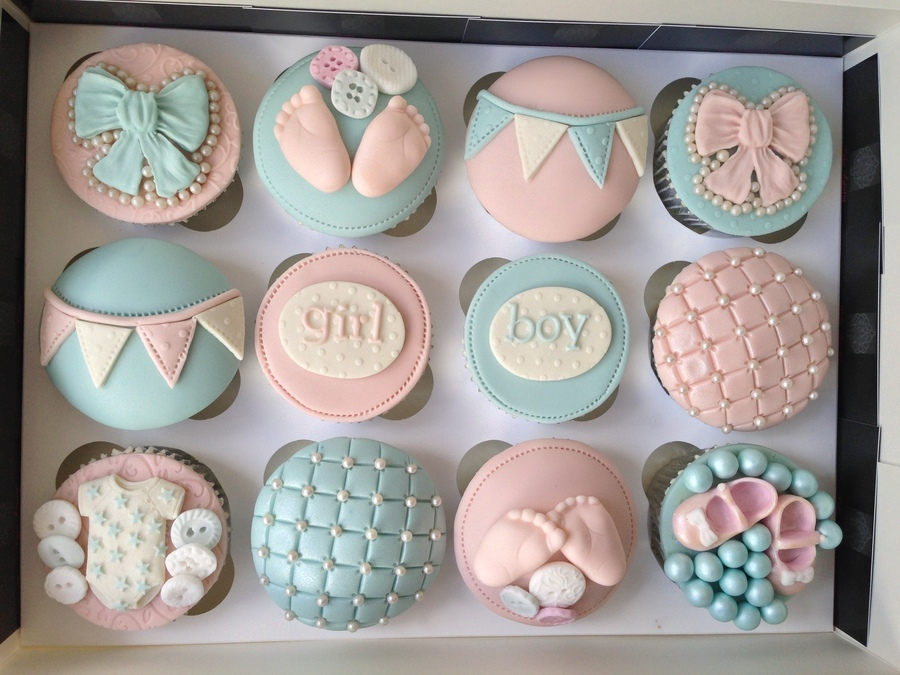 Baby Shower Cupcake Cakes Girl : Baby Shower Cupcakes - CakeCentral.com