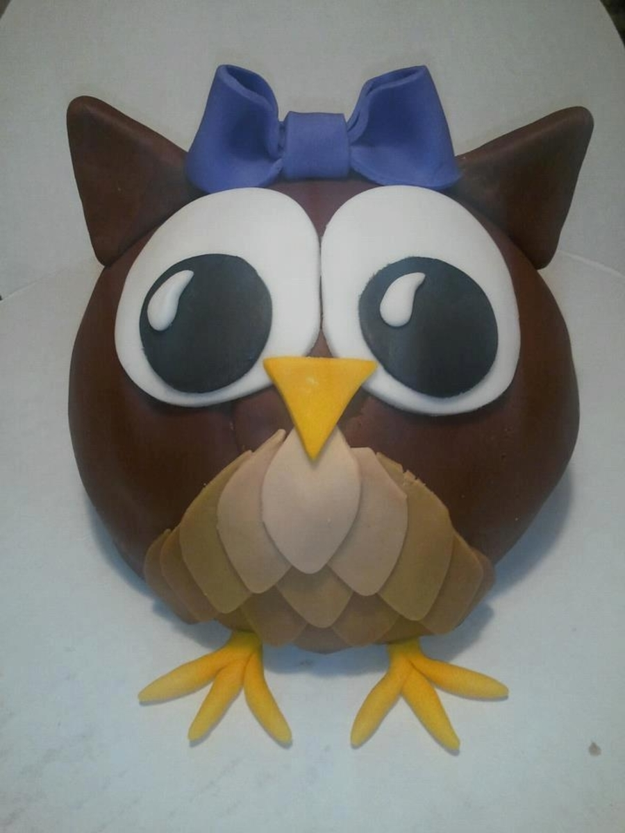 My Owl Cake! on Cake Central