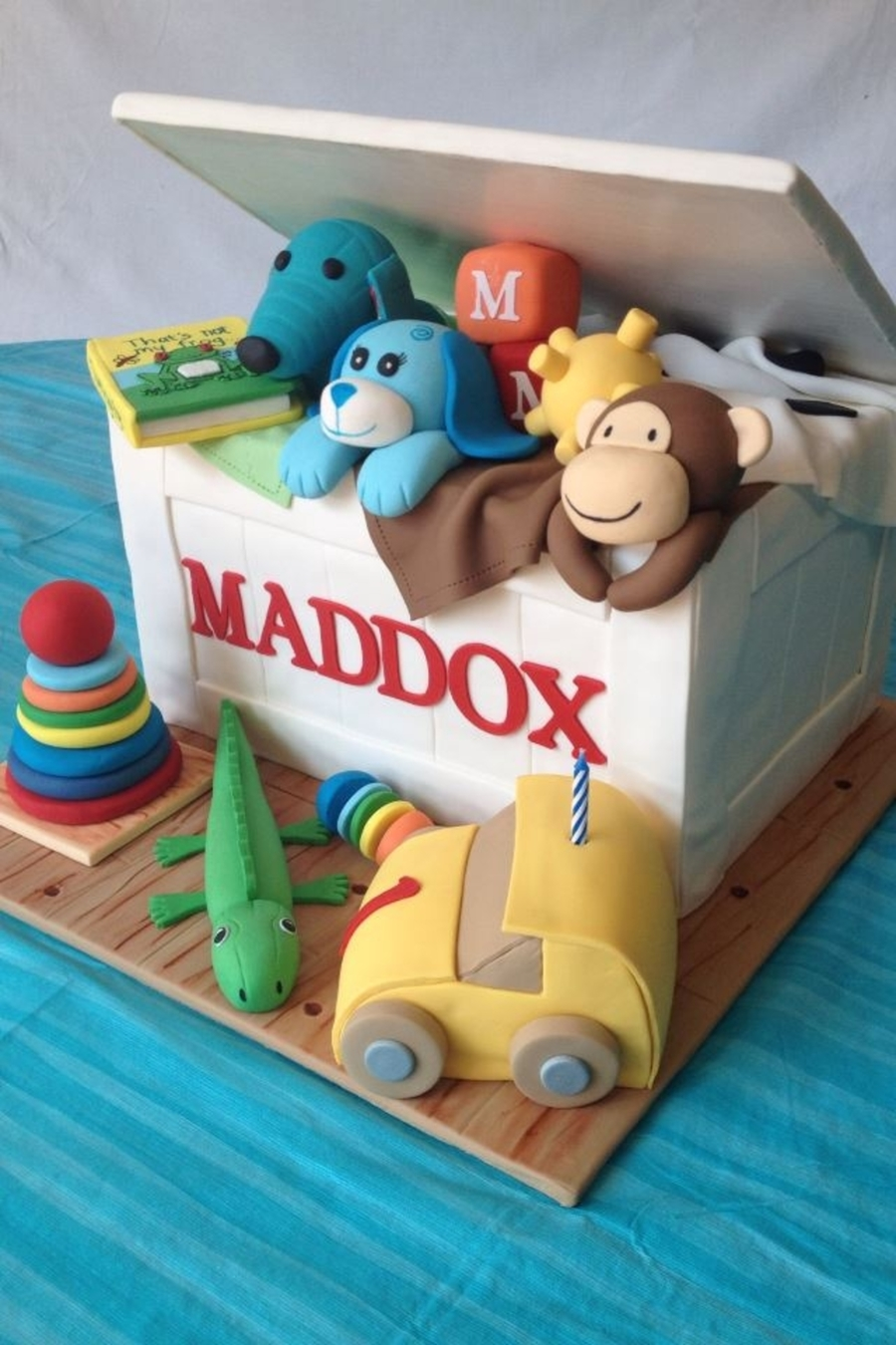 Birthday Cake Toy : Toy box birthday cake cakecentral