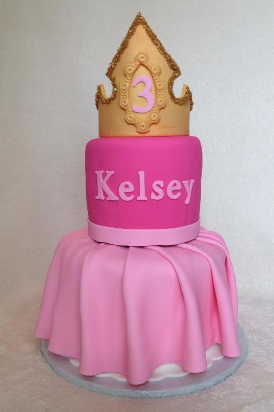 Sleeping Beauty Dress Cake - CakeCentral.com