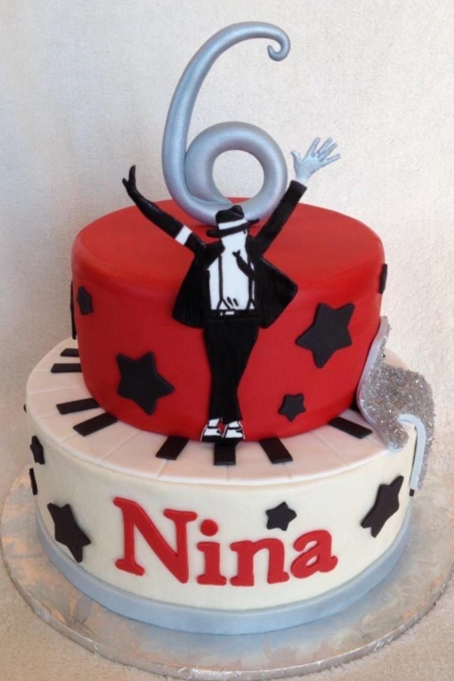 Michael Jackson Birthday Cake Cakecentral Com