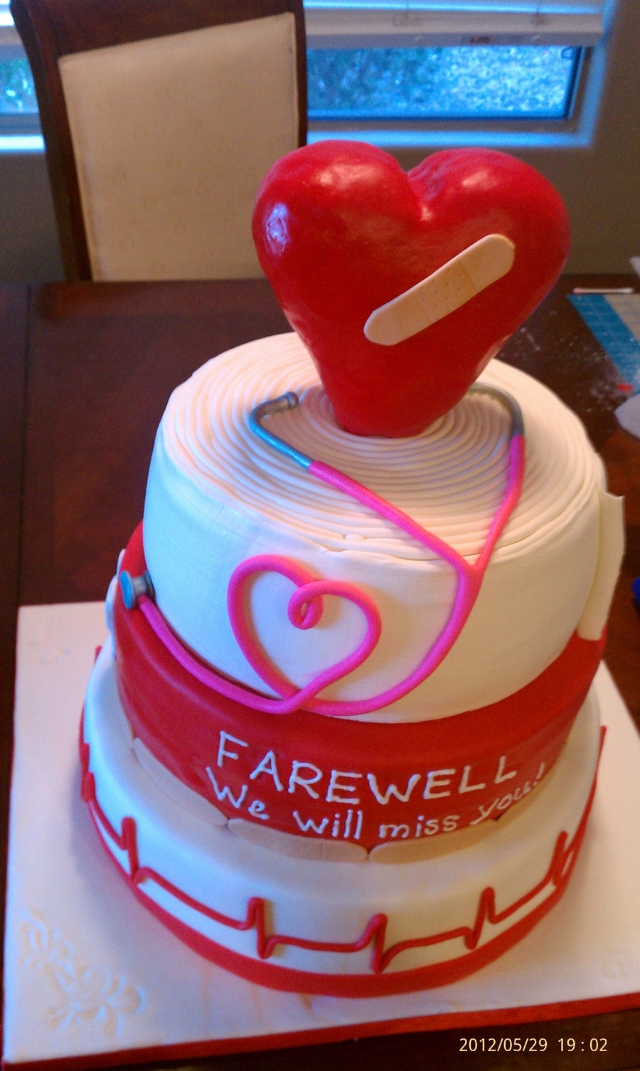 Dr. Farewell on Cake Central