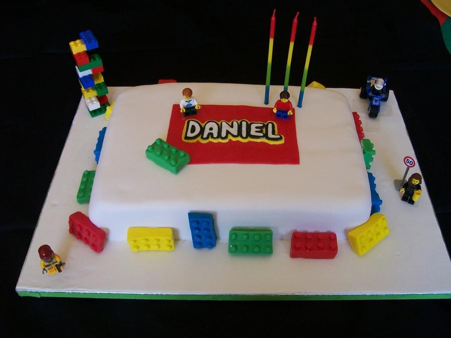 Lego Birthday Cake CakeCentralcom - Lego birthday cake pictures