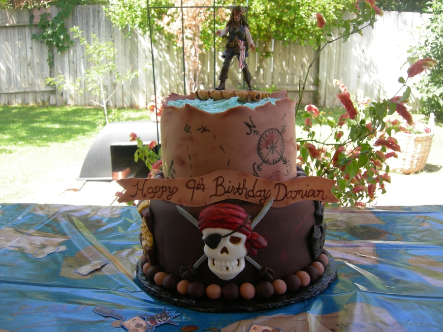 Pirates Of The Caribbean Cake Cakecentral Com